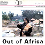 oakland tribune: out of africa